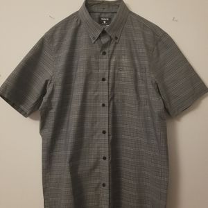 Hurley x Nike Dri-Fit Short Sleeve Button Up